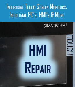 hmi repair for industrial touch screen monitors industrial pc and hmi