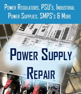 power supply repair for power regulators psu industrial power supllies and smps