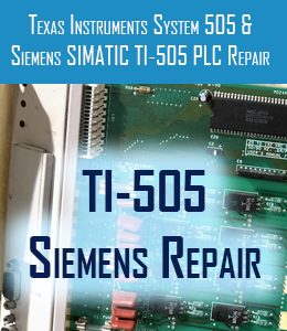 ti-505 and siemens repair for texas instruments system 505 and simatic repair